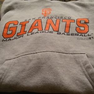 San Francisco Giants youth hoodie gently used